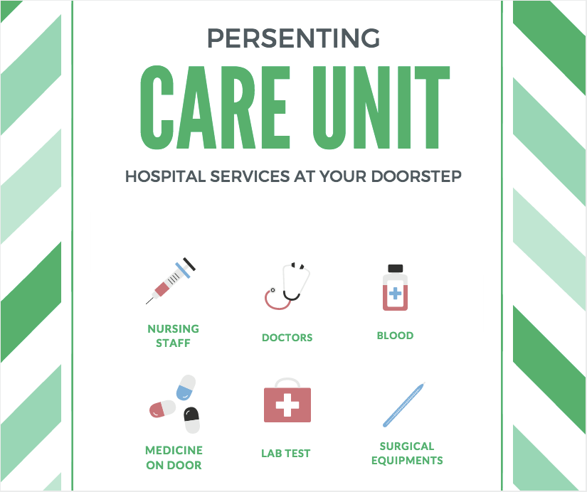 care unit hospital services at your doorstep