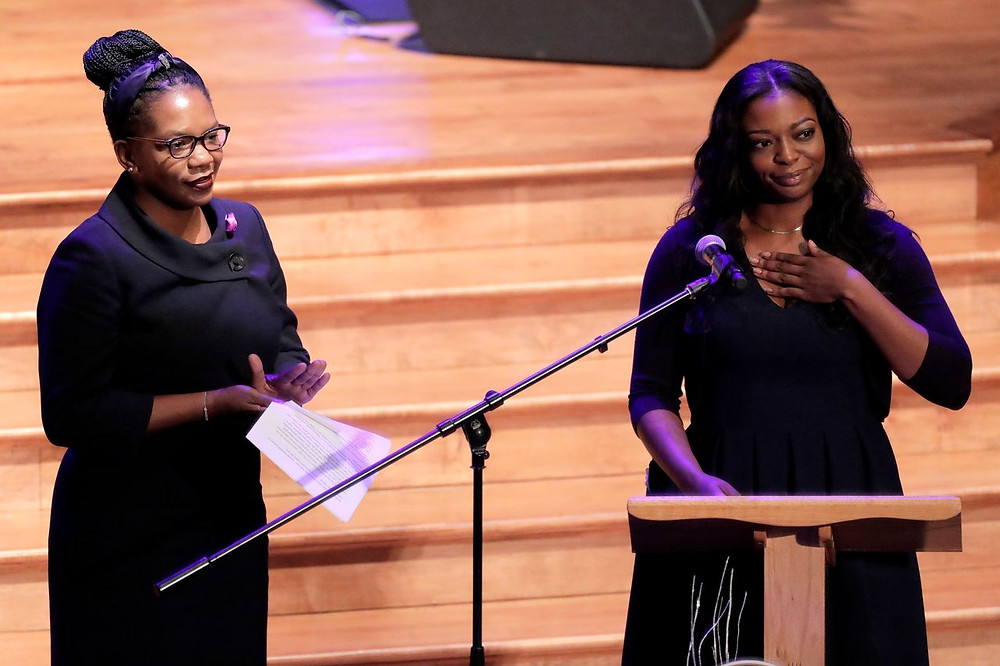 Jennifer and Adia Eulogize their dad