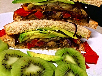 The BEST Meatless Sandwich Ever (Yum)