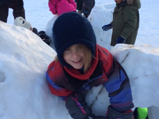 Importance of Outdoor Play - Even in the Winter!