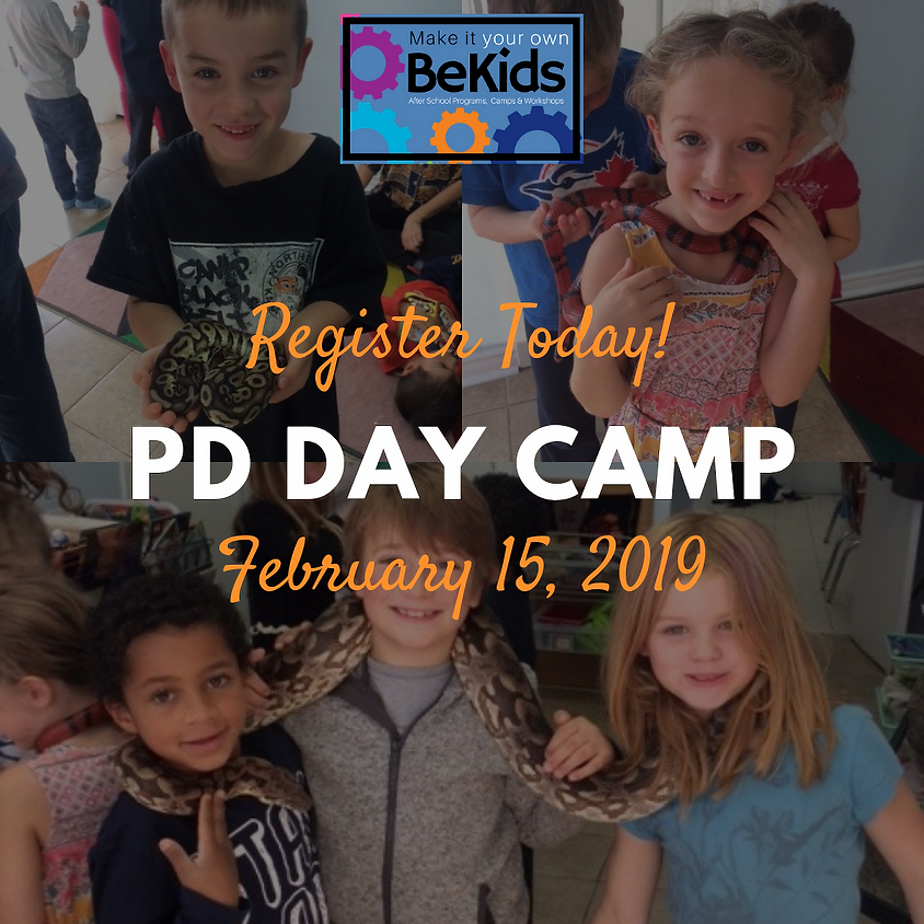 February 15 PD Day Camp