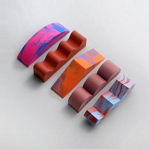 Mixed Shapes #3, Warm
