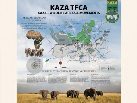 KAZA TFCA Map