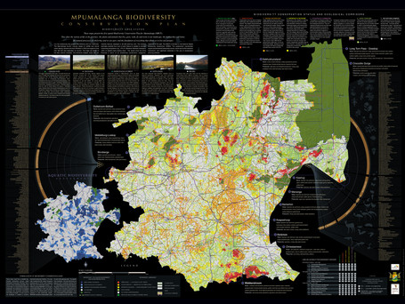 Mpumalanga Biodiversity Management Strategic Plan Map