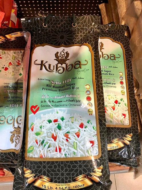kubba Basmati rice 10 LB