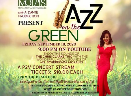 Jazz on the Green:  Rescheduled