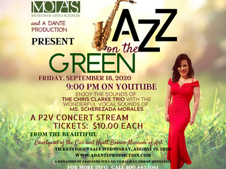 Jazz on the Green:  Rescheduled