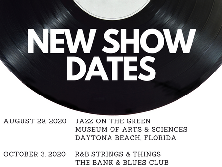 New Show Dates - ADP Coming This Fall