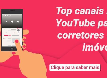 Top canais no YouTube para corretores de imóveis