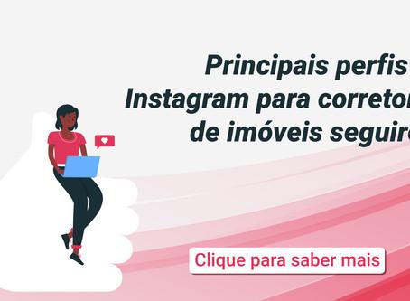Principais perfis no Instagram para corretores de imóveis seguirem