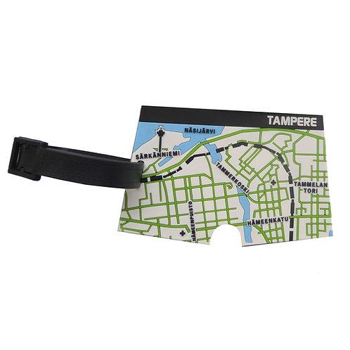 Tampere 3D-matkalaukkutägi / Tampere 3D Luggage Tag