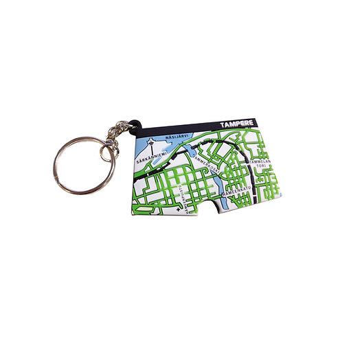 Tampere 3D-avaimenperä / Tampere Key Chain
