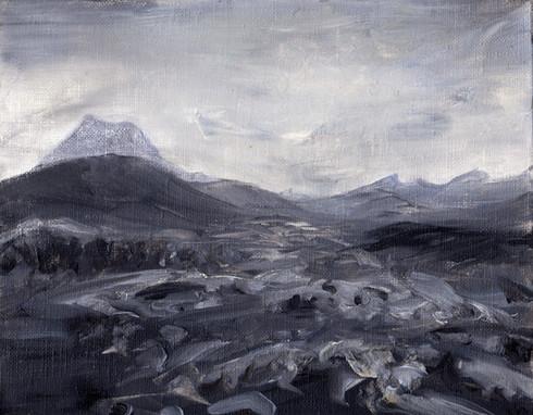 Lava Rock Symphony After the Rain