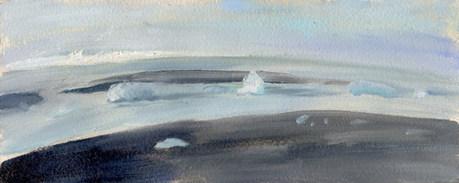 """Iceburgs off to Sea"""