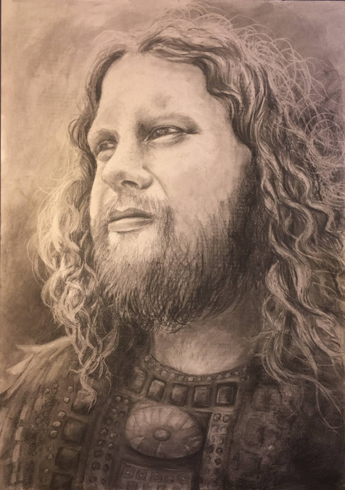 David, Warrior