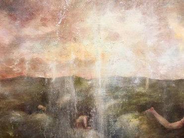 "Detail of ""Awakening in the Moss"""