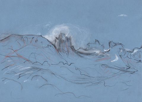 Clouds Seem Conscious in the Grand Pass to Egilstadir