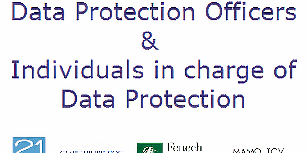 Course for Data Protection Officers/Leads
