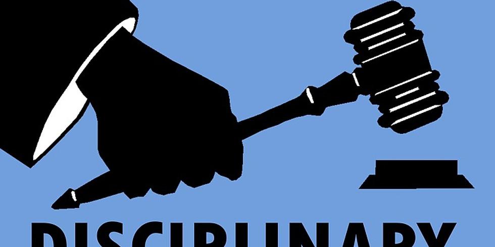 Conducting Investigations and Disciplinary Hearings