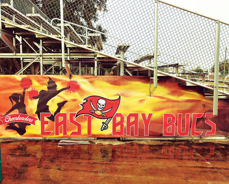 East Bay Bucs Stadium Mesh