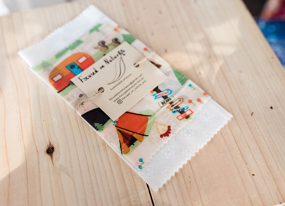 Bees wax wraps 2 pack