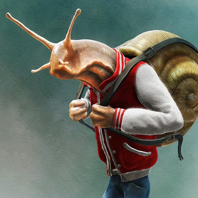 Backpack Snail