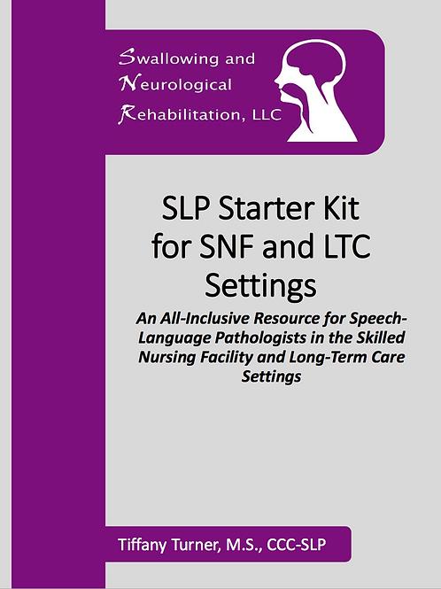 SLP Starter Kit for SNF and LTC Settings
