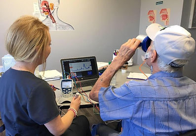 Tulsa VitalStim Therapy for Swallowing