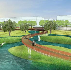 鹿邑涡河湿地公园景观规划