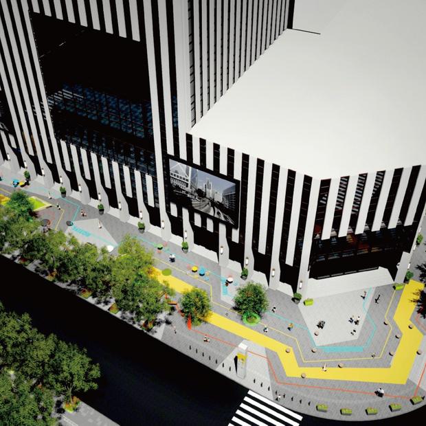 临港金融大厦活力街区改造