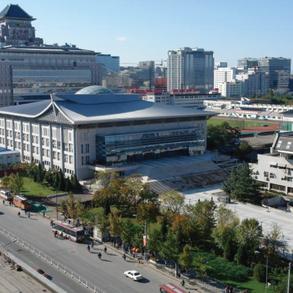 2008年奥运会乒乓球馆场地景观设计