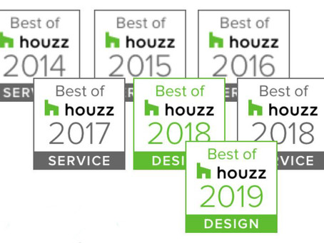 We won our 7th Houzz award!
