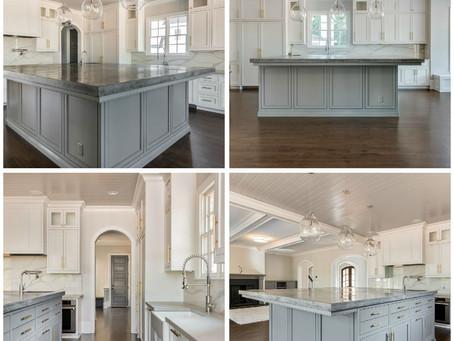 Concrete kitchen counter