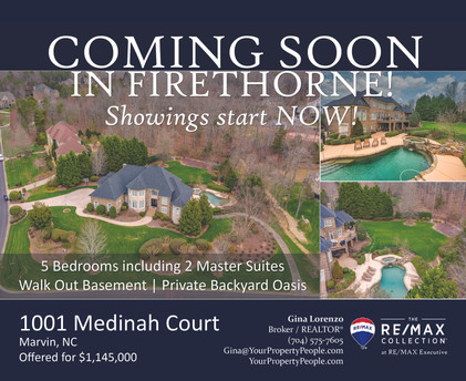 Front - 1001 Medinah Court - Coming Soon