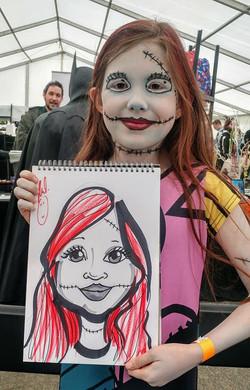 Little Girl Scarecrow