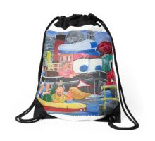Tuffy and Portwey Drawstring Bag