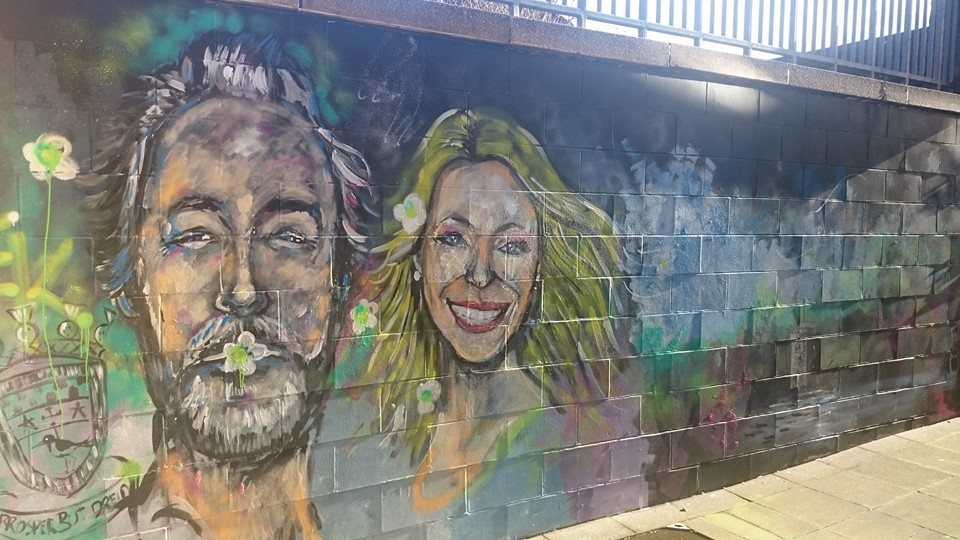 East Kilbride Art Centre Mural