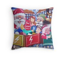 Santa's Workshop Cushion
