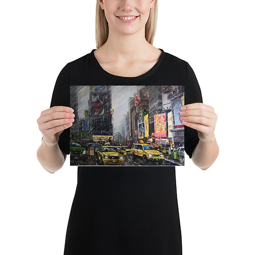 Times Square Mini Poster