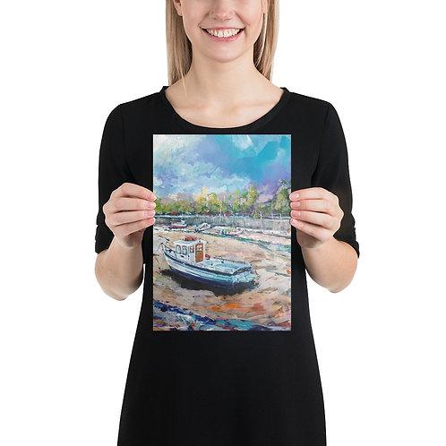 St Andrews Harbour Mini Print