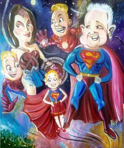 Super Hero Mix Up
