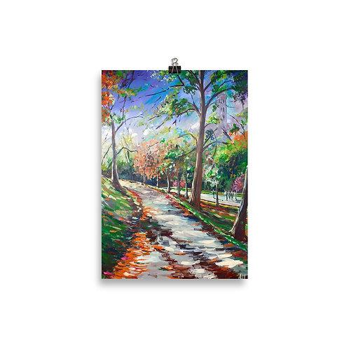 A walk in the Park, Kelvingrove Mini Print