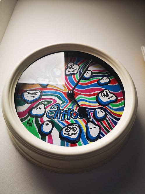 Arttoon Clock