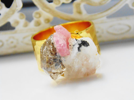 Rock Candy Gemstone Ring
