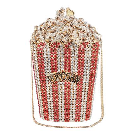 Crystal Popcorn Clutch