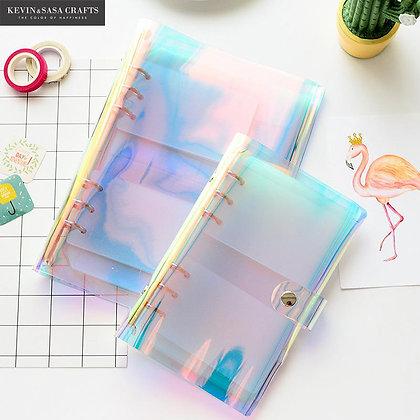 Iridescent Laser PVC Notebook