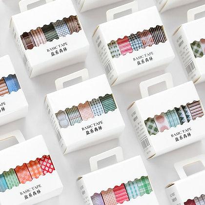 5pcs/Set Printing Washi Tape Set