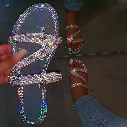 Crystal Bling Slides