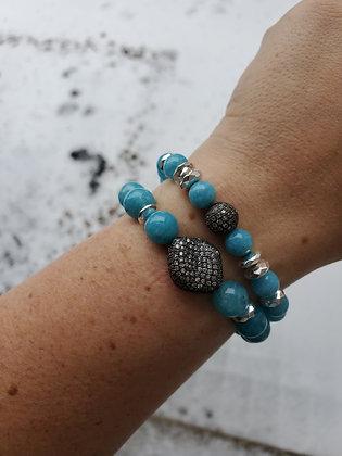 Jade Blue Set of 2