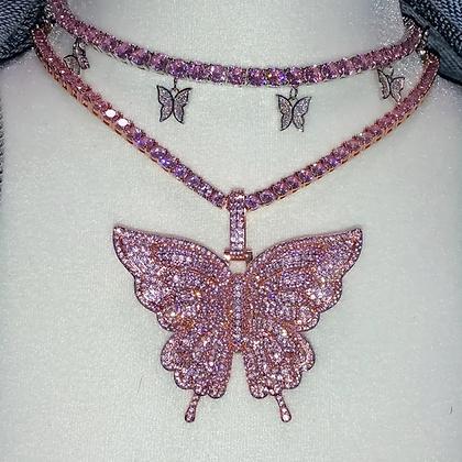 Butterfly Drop Chain